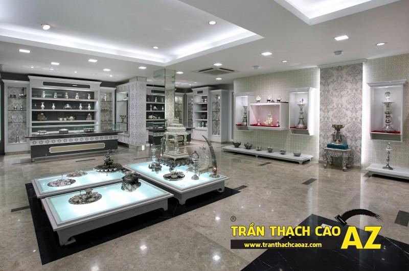 Kinh nghiệm chọn màu trần thạch cao showroom-shop để làm ăn thuận lợi, tiền vào như nước 02