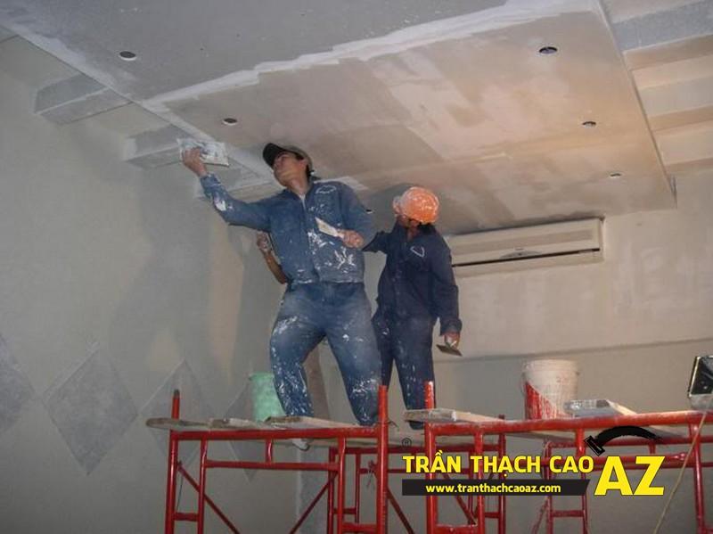 Đội thợ nào thi công thạch cao tốt nhất khu vực Hà Nội?