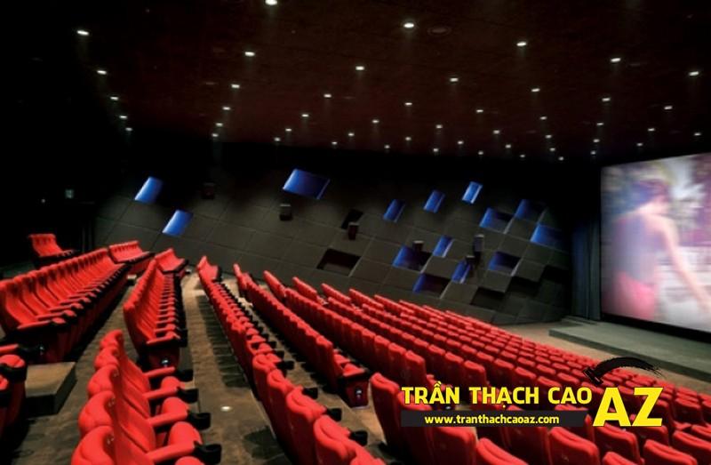 Nâng cao chất lượng cho rạp chiếu phim với trần thạch cao