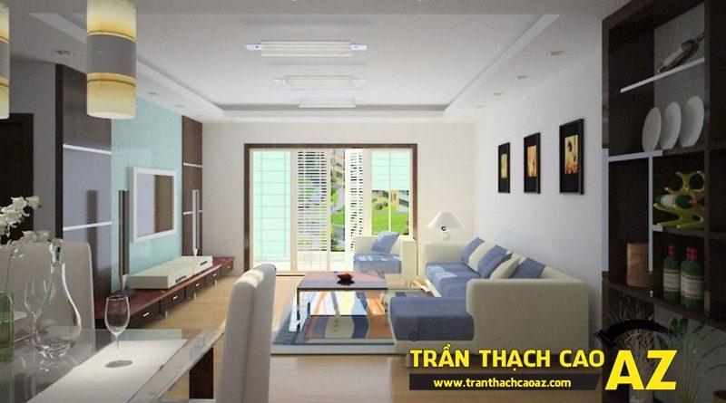 Nhận làm trần thạch cao nhà phố, nhà ống trọn gói, giá rẻ tại Hà Nội