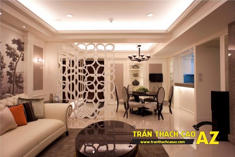 Nhận làm trần thạch cao nhà phố, nhà ống trọn gói, giá rẻ tại Hà Nội 02