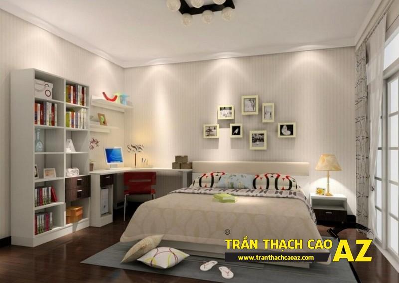 Trần thạch cao cách âm - sự lựa chọn số 1 khi làm trần thạch cao phòng ngủ 02