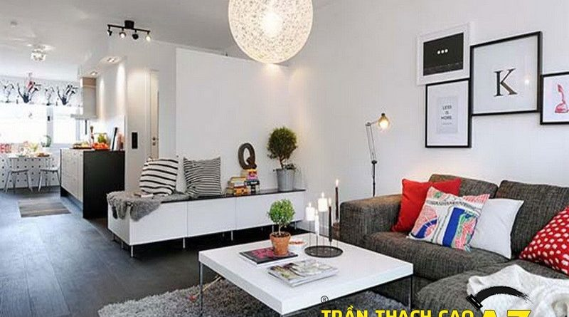 Cách chọn mẫu trần thạch cao đơn giản mà đẹp cho căn hộ nhỏ
