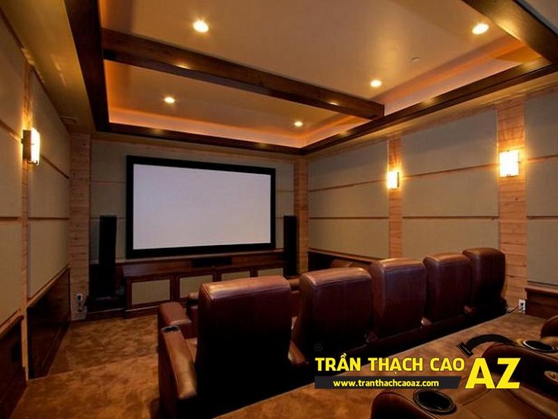 Mẫu trần thạch cao rạp chiếu phim tại gia đẹp nhất 2016