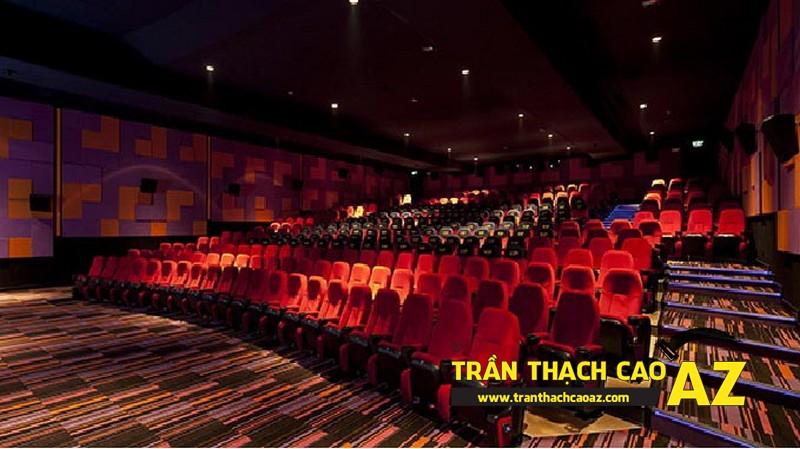 Nên sử dụng loại trần thạch cao nào cho rạp chiếu phim?