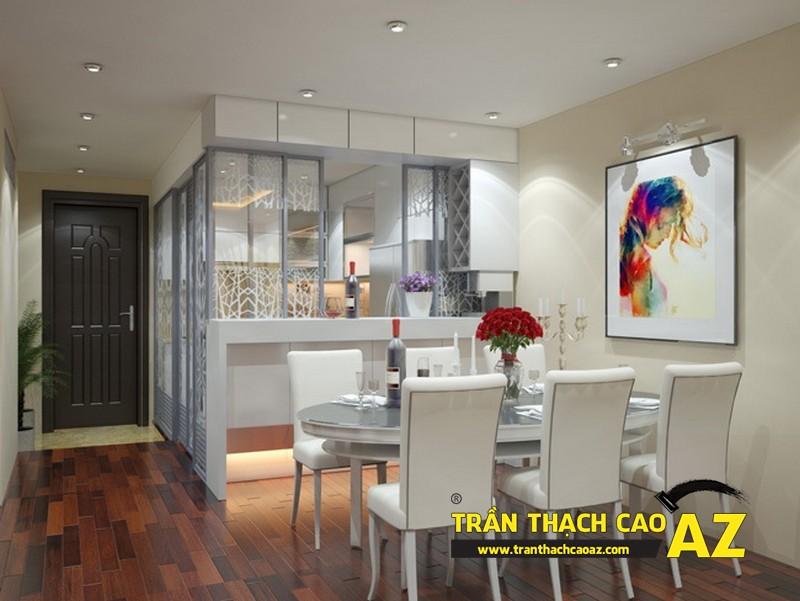 Tư vấn thiết kế trần thạch cao cho phòng bếp
