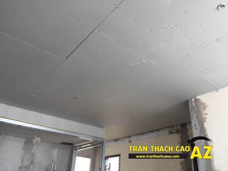 Thi công trần thạch cao cho căn hộ chung cư tại Royal city
