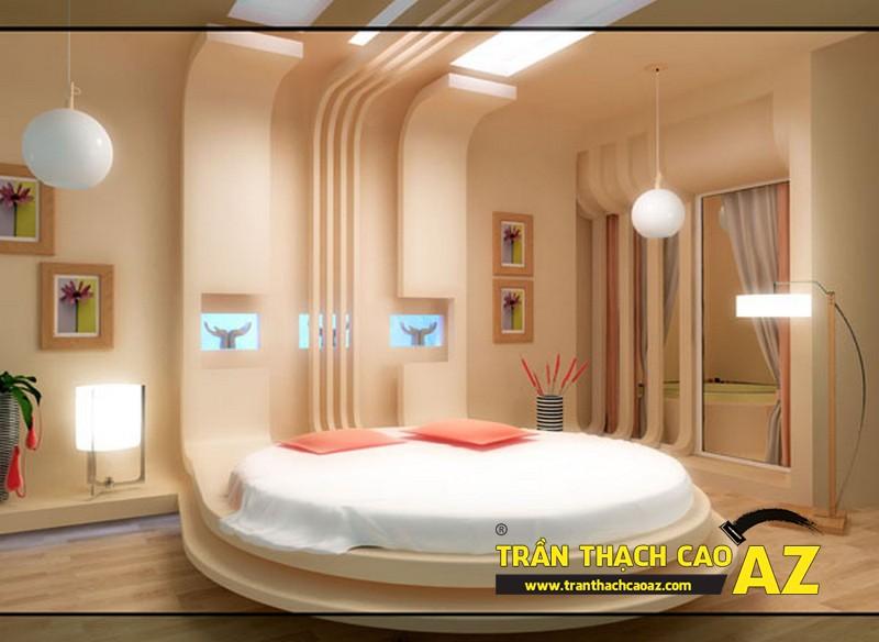 Thiết kế trần thạch cao phòng ngủ, đẹp mặn mà trong từng chi tiết