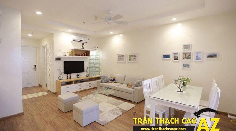 Trần thạch cao cho căn hộ chung cư bền đẹp, giá rẻ