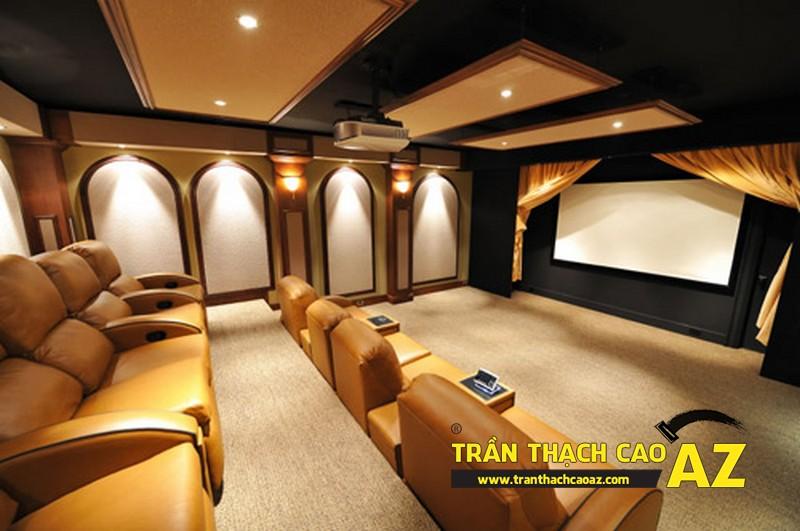 Trần thạch cao cho rạp chiếu phim tại gia
