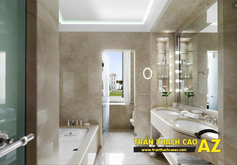 Trần thạch cao chống ẩm – Cách bảo vệ phòng tắm tối ưu nhất