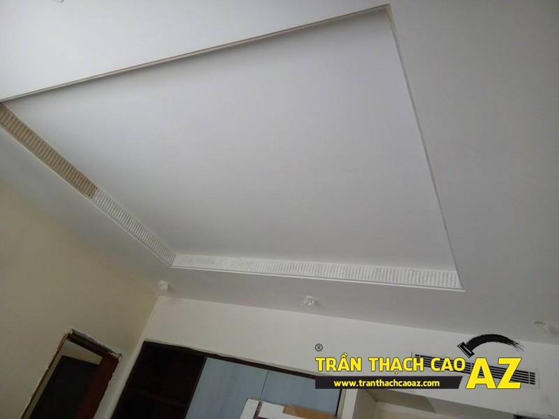 Thi công hoàn thiện trần thạch cao đẹp hiện đại nhà anh Long 03