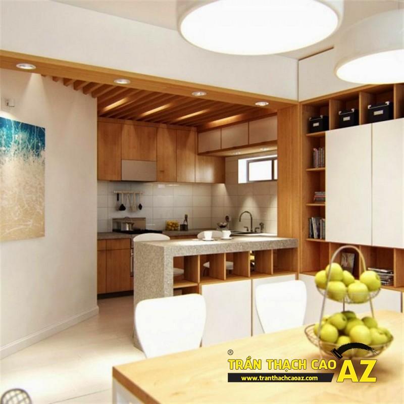 Trần thạch cao - Giải pháp chống ẩm hiệu quả cho không gian phòng bếp
