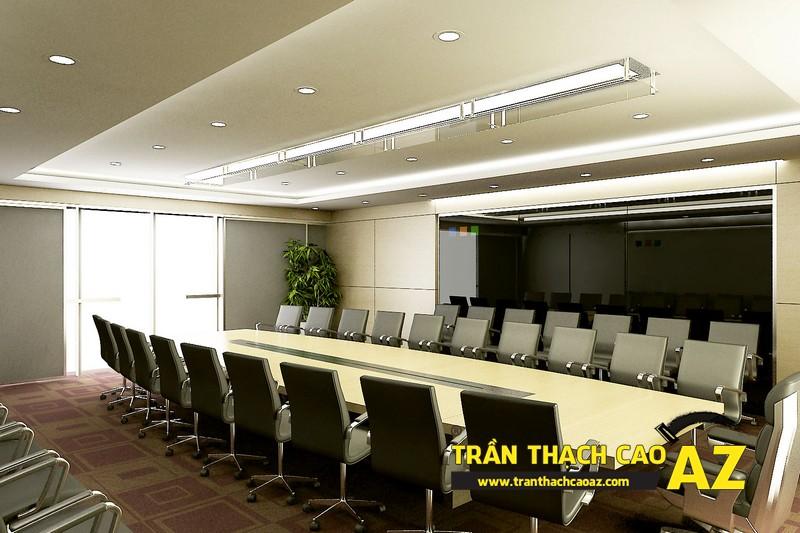 Trần thạch cao chìm sự lựa chọn trên cả tuyệt vời dành cho phòng họp, phòng giám đốc...