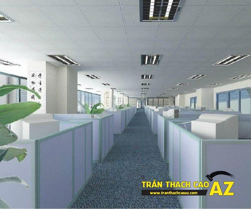 Trần thạch cao nổi sự lựa chọn trên cả tuyệt vời dành cho không gian văn phòng chung
