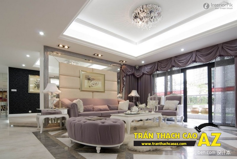 AZ - đơn vị làm trần thạch cao tầng áp mái chung cư hàng đầu tại Hà Nội 01