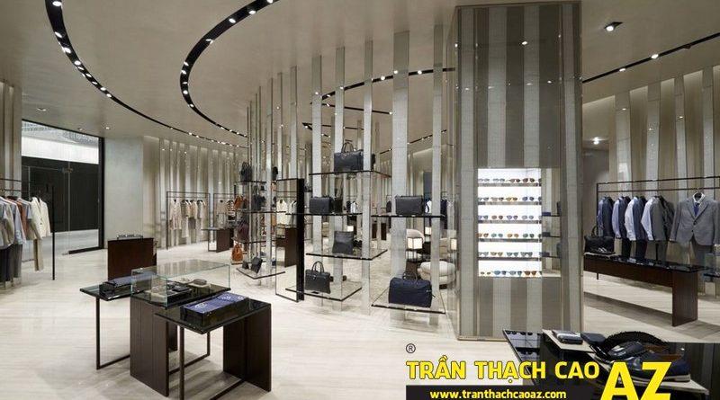Trần thạch cao AZ - đơn vị làm trần thạch cao showroom - shop số 1 hiện nay