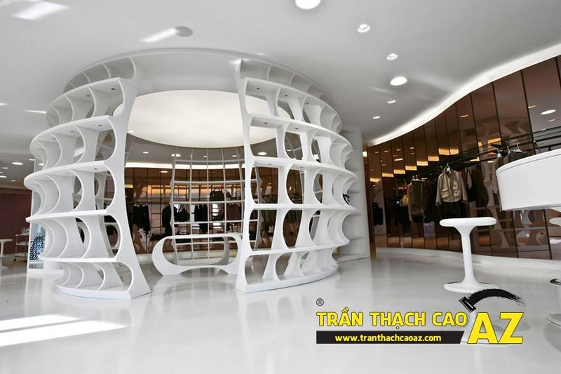 Trần thạch cao AZ - đơn vị làm trần thạch cao showroom - shop số 1 hiện nay 01
