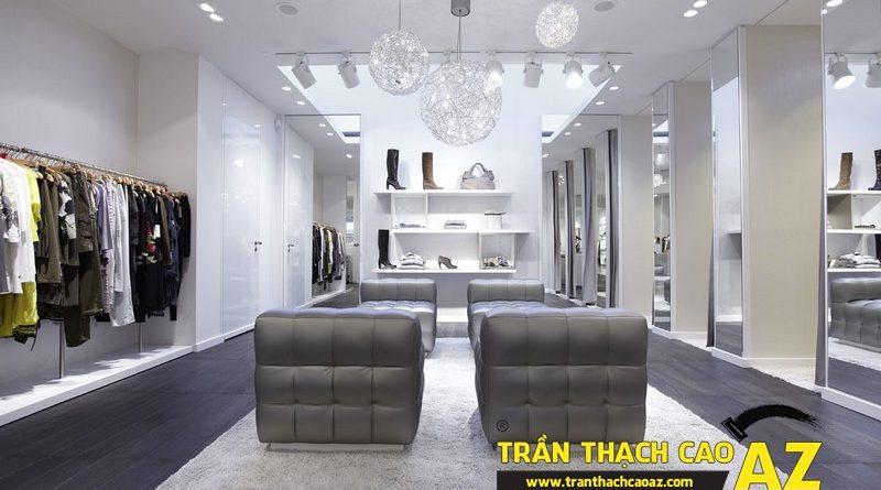 Trần thạch cao AZ - đơn vị tư vấn thiết kế trần thạch cao showroom số 1 Hà Nội