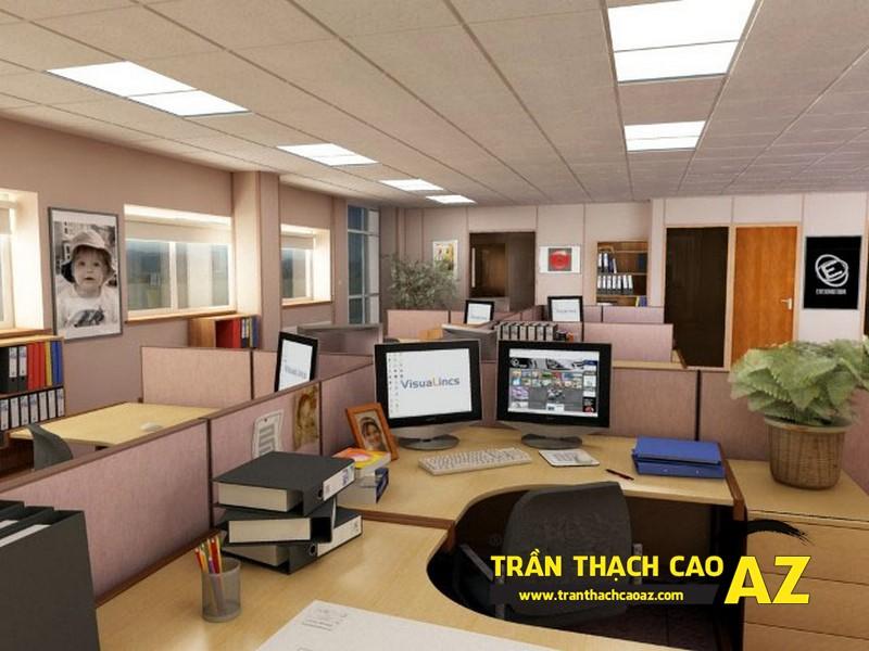 Tư vấn thiết kế trần thạch cao cho văn phòng
