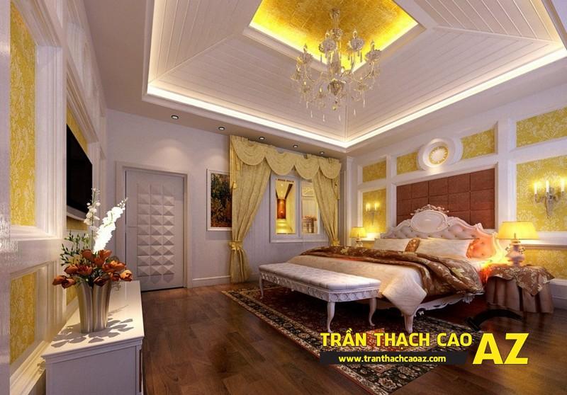 Xu hướng làm trần thạch cao phòng ngủ hot nhất dịp cuối năm 03