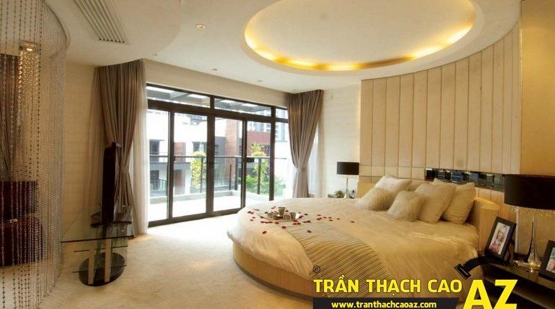Xu hướng làm trần thạch cao phòng ngủ hot nhất dịp cuối năm