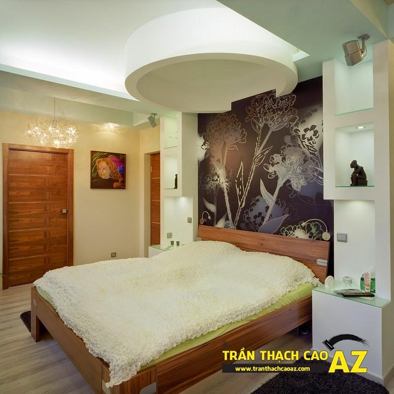 Mẫu trần thạch cao đẹp phòng ngủ 01
