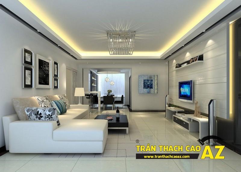 Công ty AZ - đơn vị thiết kế, thi công trần thạch cao hàng đầu Hà Nội 01