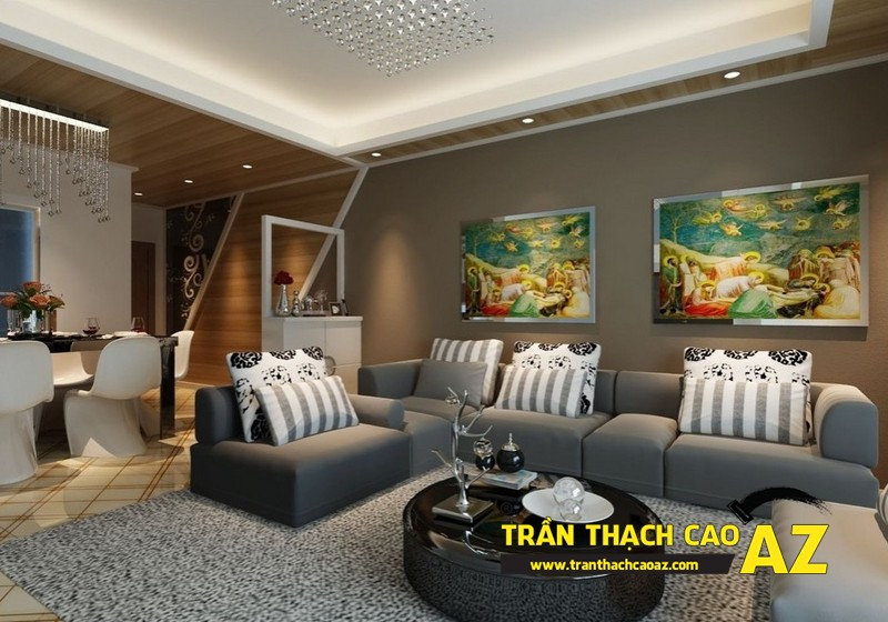 Công ty AZ - đơn vị thiết kế, thi công trần thạch cao hàng đầu Hà Nội 03