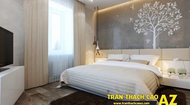 Cách bố trí đèn led âm trần cho trần thạch cao phòng ngủ đẹp mỹ mãn
