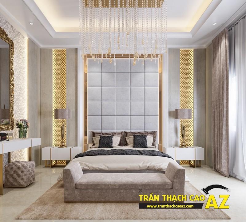 Cách bố trí đèn led âm trần cho trần thạch cao phòng ngủ đẹp mỹ mãn 05