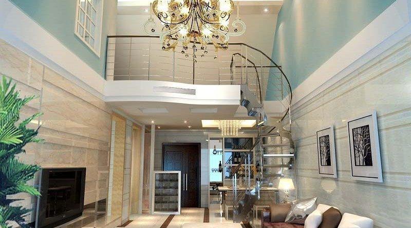 Cách bố trí đèn led trang trí ở thiết kế trần thạch cao nhà ở