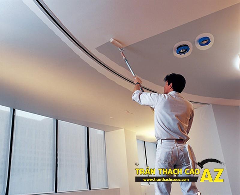 Cần tìm đơn vị thi công sơn bả cho trần nhà thạch cao tốt nhất
