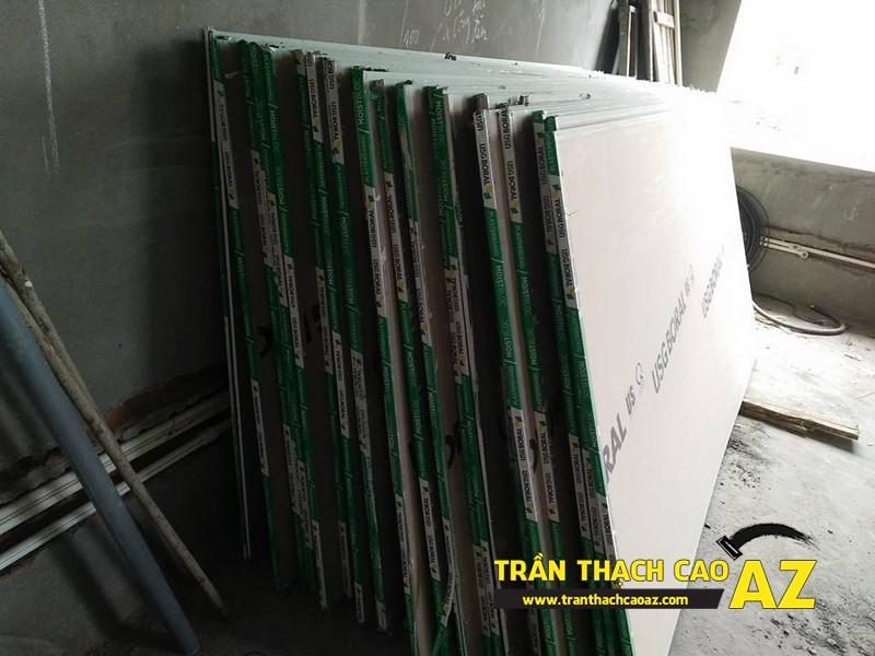 Đại lý cung cấp tấm thạch cao giá rẻ, uy tín, chất lượng