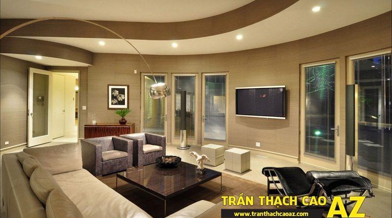 Cách dùng trần thạch cao hóa giải phong thủy xấu khi thiết kế nội thất