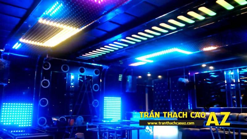 Mẫu trần thạch cao phòng karaoke đẹp cá tính, ấn tượng -13