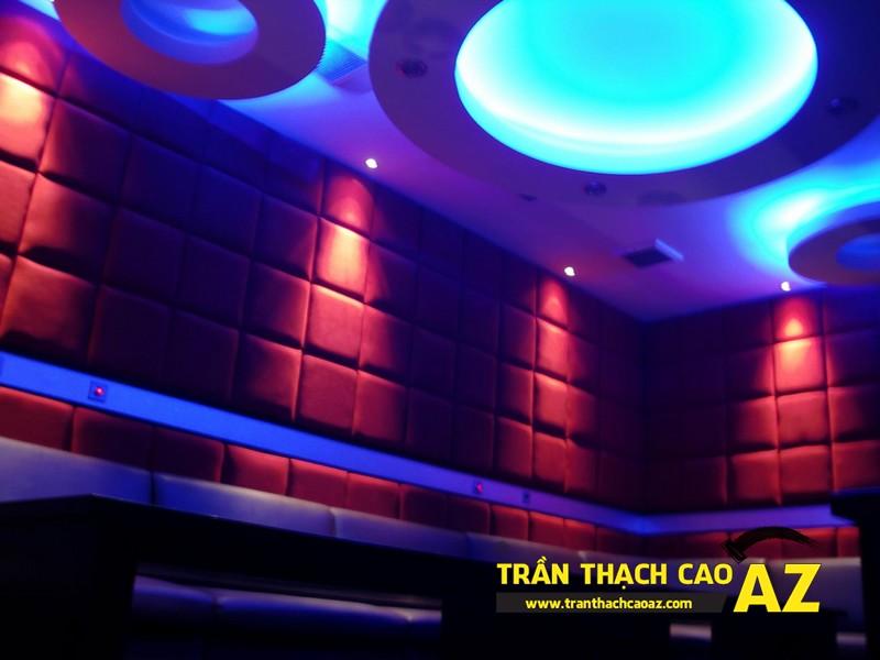 Mẫu trần thạch cao phòng karaoke đẹp cá tính, ấn tượng -14