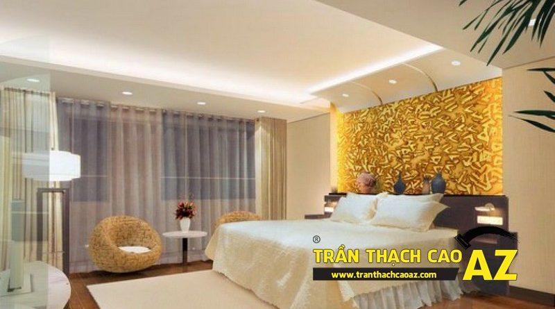 Những mẫu trần thạch cao phòng ngủ đẹp đến nao lòng không thể bỏ qua