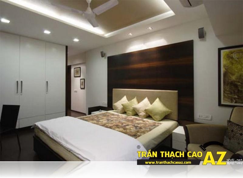 Mẫu trần thạch cao phòng ngủ đẹp đến nao lòng 10