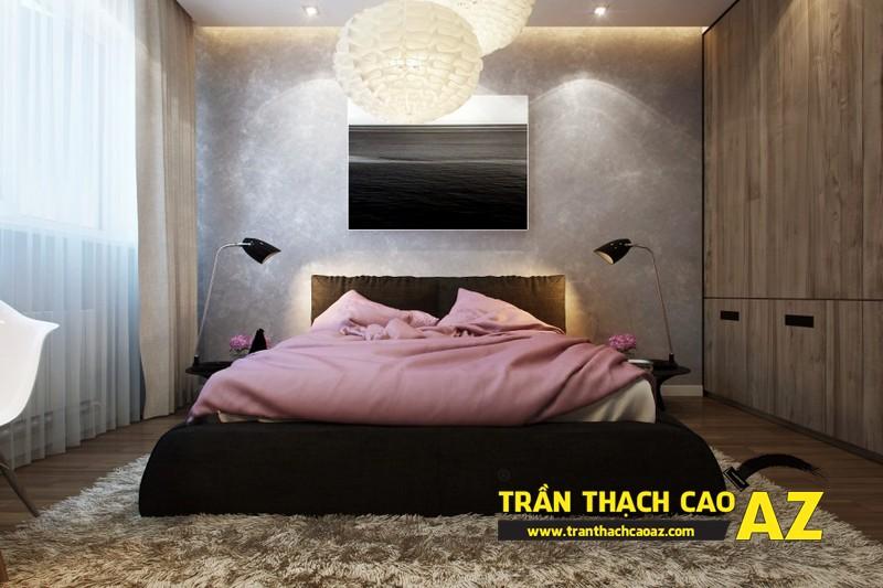 Mẫu trần thạch cao phòng ngủ nhỏ đẹp lung linh hết nấc 15