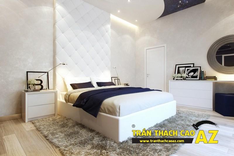 Mẫu trần thạch cao phòng ngủ nhỏ đẹp lung linh hết nấc 10