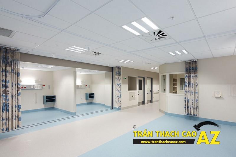 Làm loại trần thạch cao thả cho không gian showroom - shop rộng,, hoặc có yêu cầu cao về mức độ tiện dụng 02