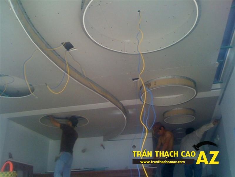 Nhận thi công trần thạch cao cho trường mầm non uy tín, chất lượng