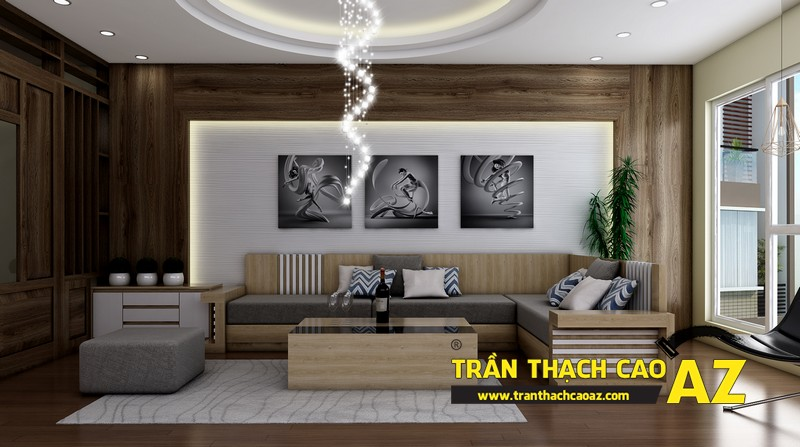 Những điều cần biết khi sử dụng trần thạch cao thiết kế nội thất 03