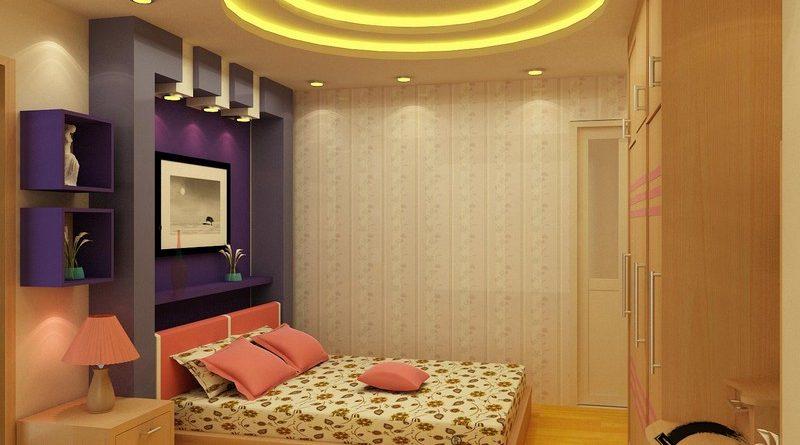 Không gian phòng ngủ trẻ em cực sinh động nhờ tạo hình trần thạch cao