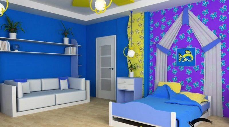 Tạo hình ngộ nghĩnh, đáng yêu của trần thạch cao phòng ngủ trẻ em