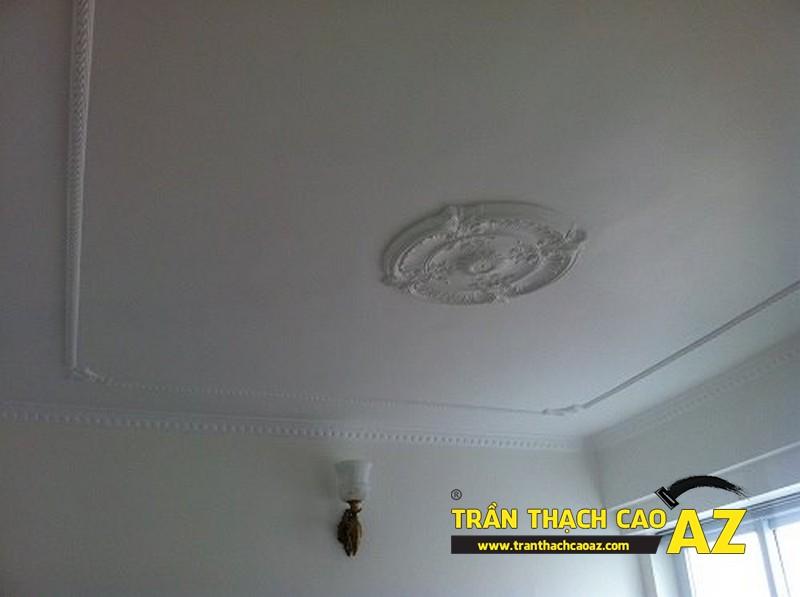 Thi công trần thạch cao cho căn hộ 160 chung cư Thái Hà, Đống Đa, Hà Nội
