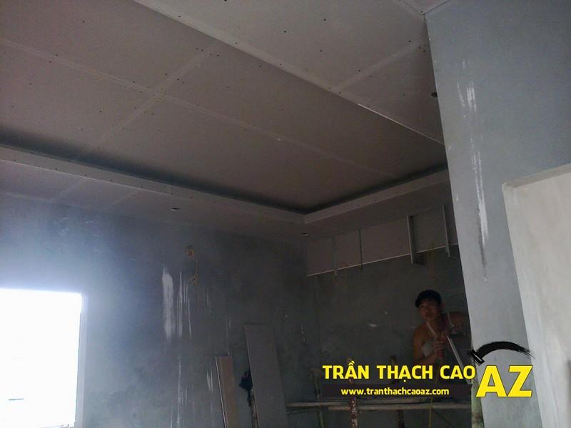 Thi công trần thạch cao nhà anh Bắc tại Xuân Thủy, Cầu Giấy