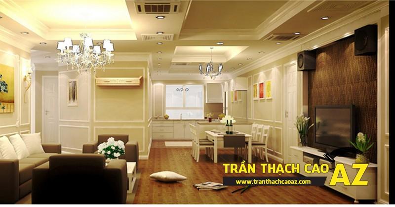 Thiết kế nội thất cho nhà chung cư cao cấp