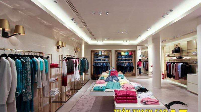 Thiết kế nội thất cho shop thời trang trọn gói, giá rẻ